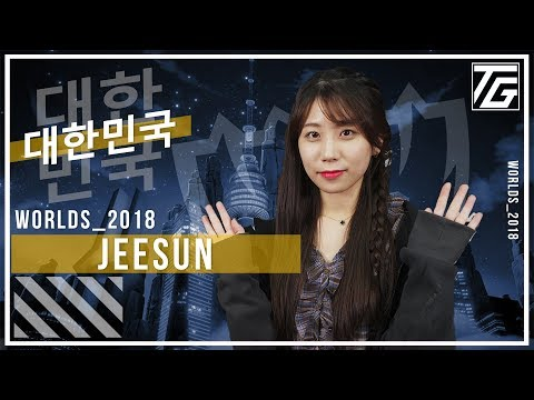 Introducing Jeesun - Korea's new League host and interviewer at Worlds 2018