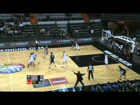 Puerto Rico Vs. Paraguay / 2011 FIBA Americas Championship Round 1