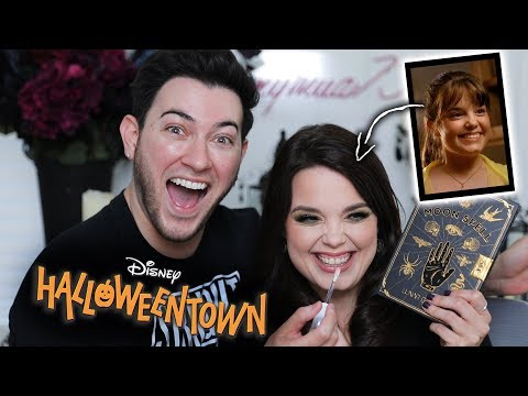 Glam TRANSFORMATION on Marnie from HALLOWEENTOWN! thumbnail