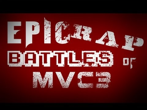 Epic Rap Battles of MVC3: WESKER vs DOOM (Extended)  *PARODY*