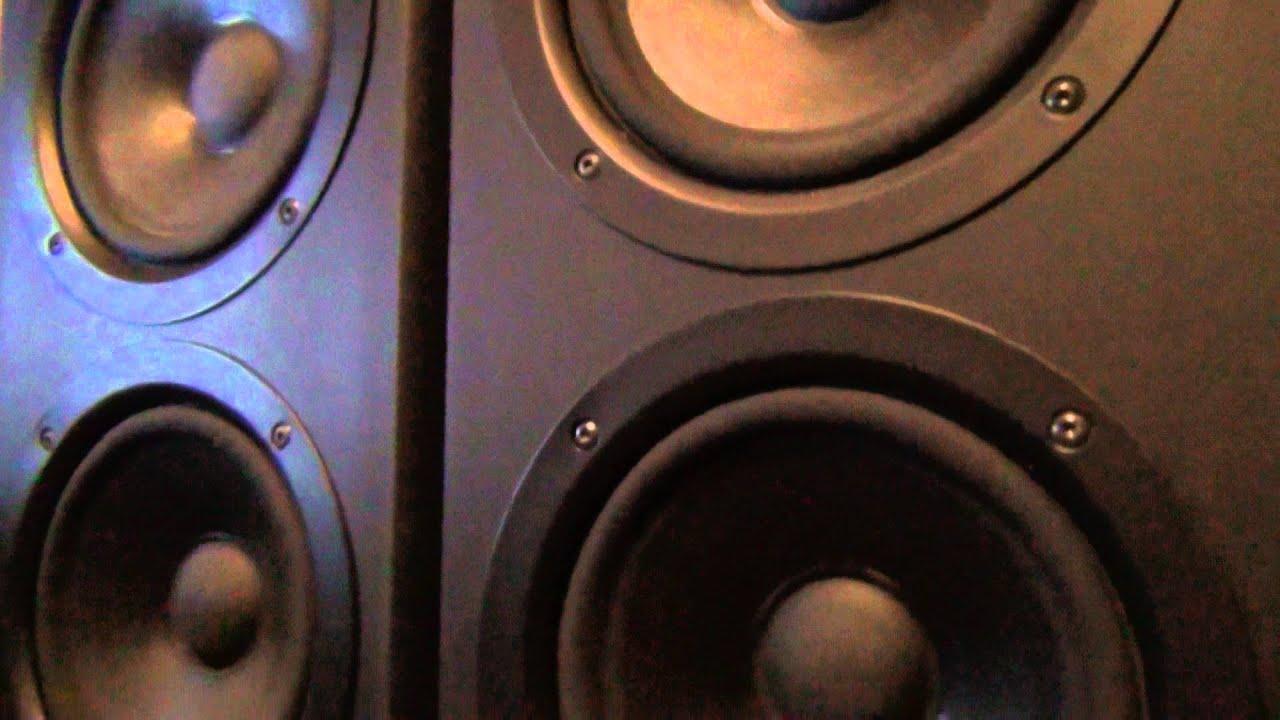 Jamo S606 2.0 трёх полосные колонки распаковка и обзор + Yamaha AX .