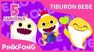 Especial del Tiburón Bebé | Tiburones de Navidad y Halloween | +Recopilación | Pinkfong Canciones