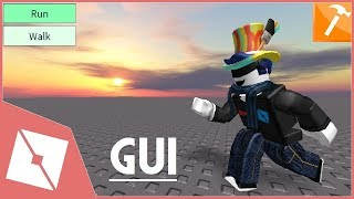 ROBLOX Tutorial | Making Run & Walk GUI