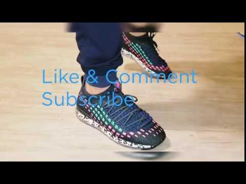 Puma Jamming Fusefit on the feet - YouTube