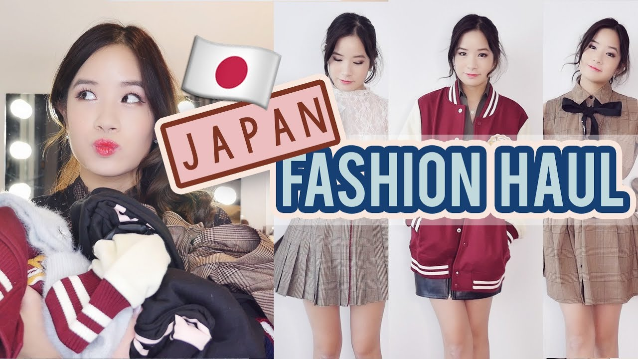Japan Clothing Haul | What I bought in SHIBUYA109, HARAJUKU & MORE!