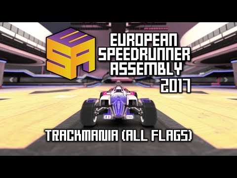 ESA 2017 | TrackMania² Stadium Speedrun | All Flags