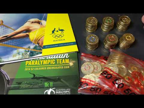 GIVEAWAY!!! & Australian 2016 $2 Olympic Coins