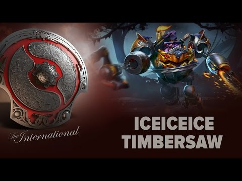 iceiceice (Timbersaw) - EHOME vs. FNATIC @ The International 2016