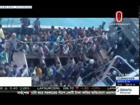 Malaysia turn away boats carrying migrants (14-05-2015)