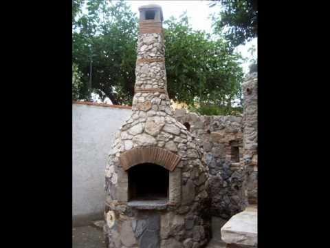 costruire un forno a legna artigianale in pietra