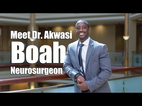 Meet Dr. Akwasi Boah, Neurosurgeon in Denton, TX at Texas Back Institute