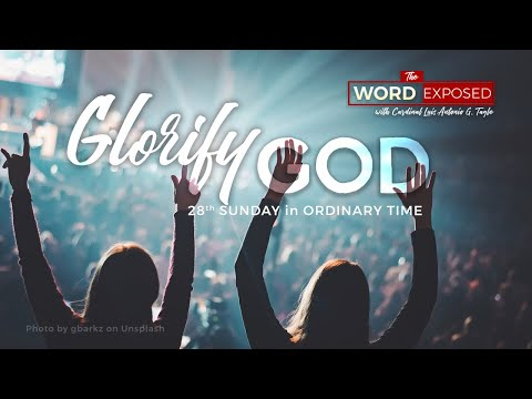 The Word Exposed - GLORIFY GOD (October 13, 2019)