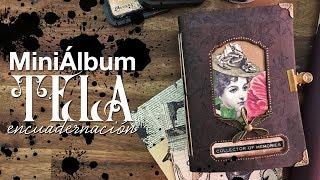 Album tela TUTORIAL - Básicos de encuadernación y cartonaje