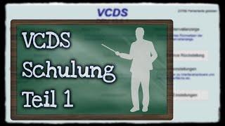 VCDS Schulung Teil 1: Grundwissen | Basics [für Anfänger und Neulinge] #vcds