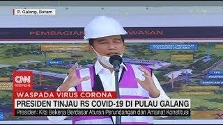 Gambar cover Jokowi Tinjau RS Covid-19 di Pulau Galang