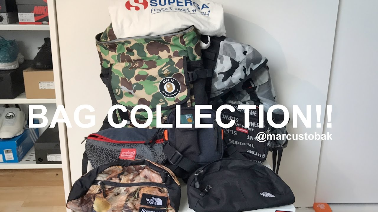 Bag Collection Video *Bape X Puma, Supreme, Patta And More* - YouTube