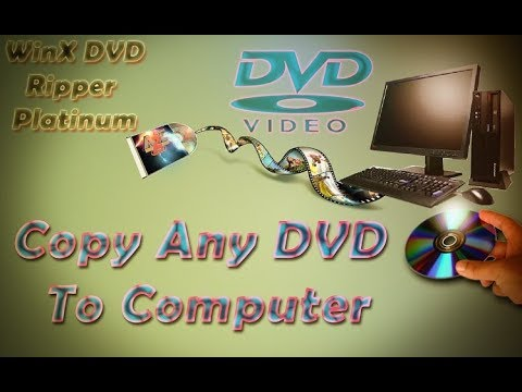 How To Any DVD Copy Your Computer In Windows 10,8,7 Uses With WinX Ripper Platinum Quickly