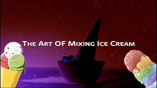 Art of mixing ice cream (Cream Stone) - Be our guest version
