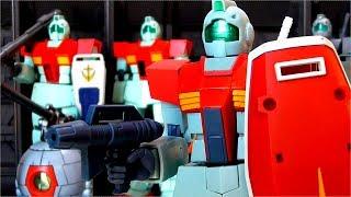 ROBOT魂 RGM-79 ジム ver. A.N.I.M.E. レビュー【量産期は良い物です☆】ロボット魂 機動戦士ガンダム GM