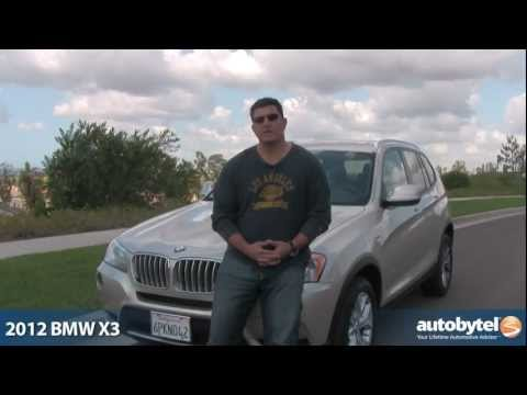 2012 BMW X3 SUV Road Test & Car Review