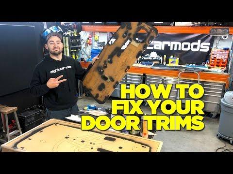 How To Fix Your Car Door Trims (JDM MIRA)