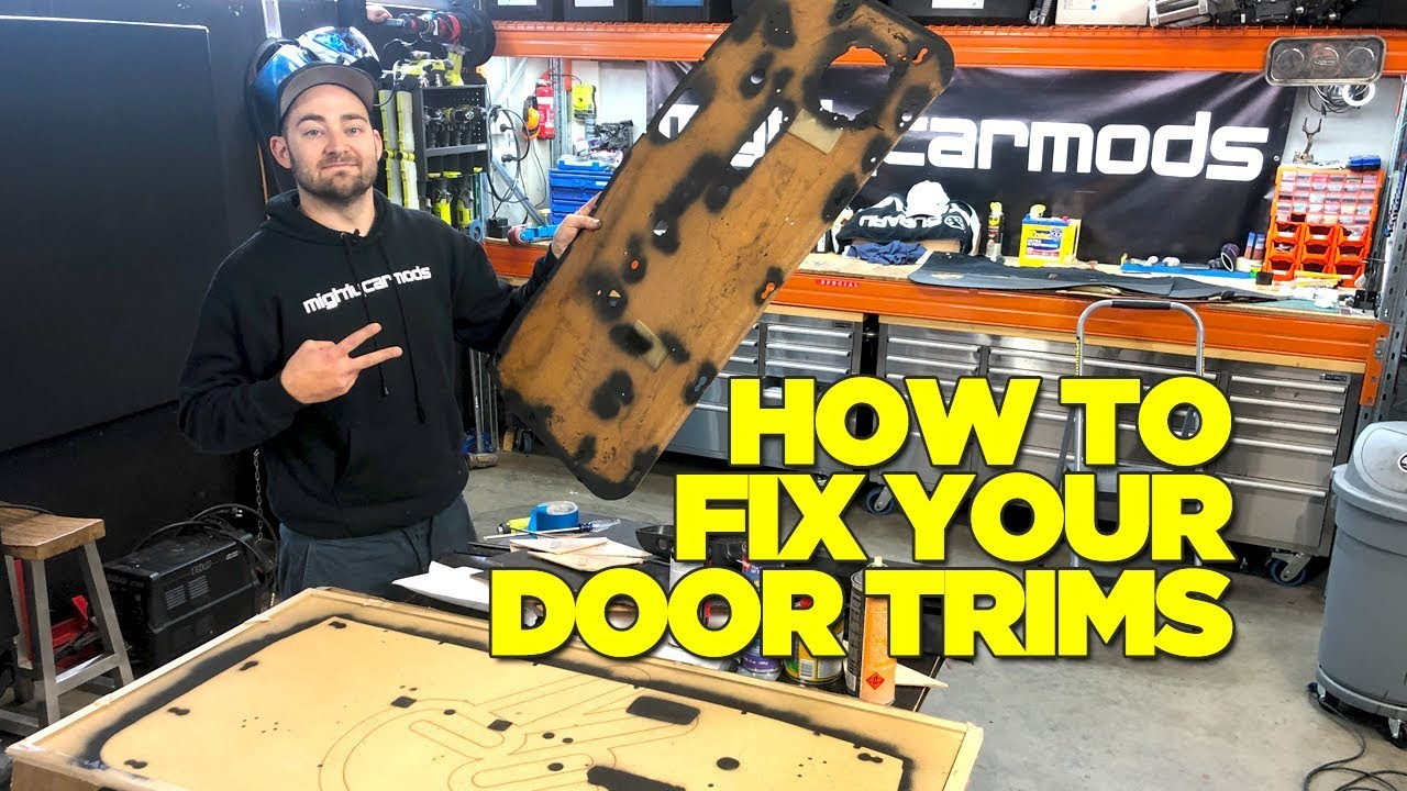 How To Fix Your Car Door Trims (JDM MIRA)