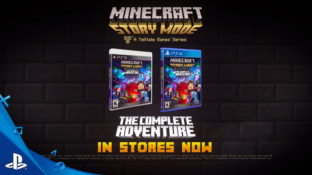 Minecraft Story Mode A Telltale Games Series The Complete