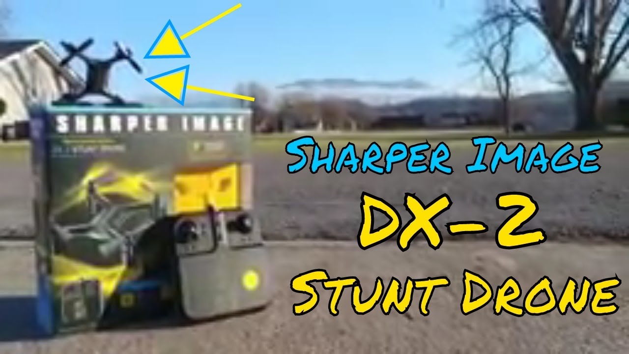 Sharper Image Dx2 Stunt Drone Review Youtube