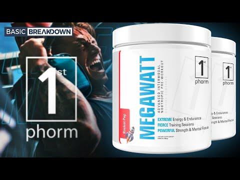1st Phorm MegaWatt Pre-Workout Supplement Review | Basic Breakdown