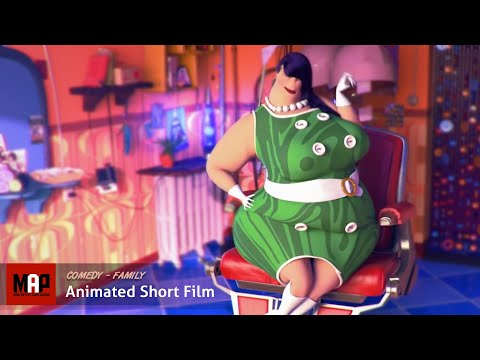 "CGI 3D Animated Short Film ""ADULT HAIR"" Hilarious Animation by ESMA"