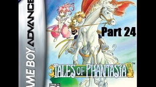 Tales of Phantasia (GBA) Walkthrough Part 24: Cave of Ice, Boss: Fen Beast