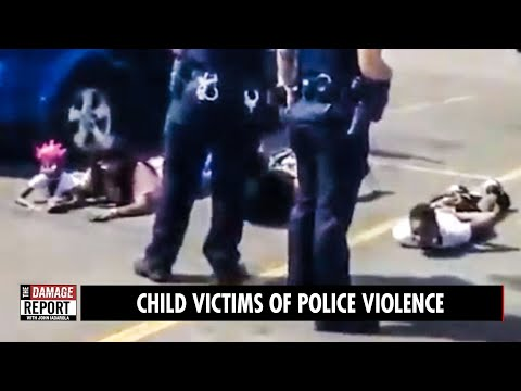 Black Kids Crying On Ground, Wrongly Arrested (VIDEO)