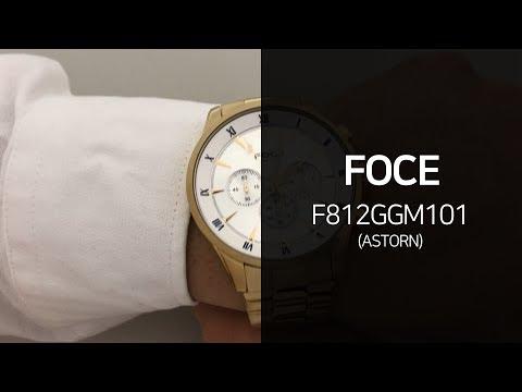 포체 F812GGM101 ASTORN 메탈시계 리뷰 영상 - 타임메카