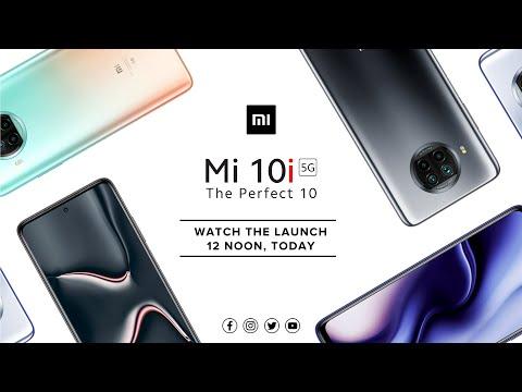 Mi 10i   Livestream at 12PM   #ThePerfect10