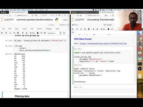 Spark Dataframe Groupby-Aggregate-Finalise Pattern - YouTube