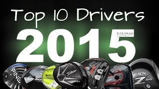 Top 10 Drivers 2015(Top 10 Drivers 2015 ▻Become a FREE SUBSCRIBER now http://bit.ly/SubRickShielsGolf ▻Feel free to comment below! ▻Remember to hit that LIKE button if ..., 2015-01-03T09:00:05.000Z)