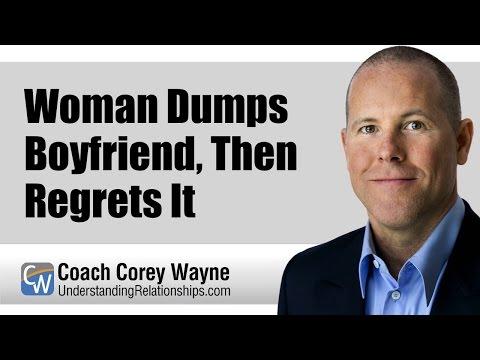 Woman Dumps Boyfriend, Then Regrets It - YouTube