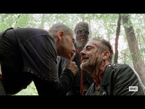 "The Walking Dead 10x06 ""Alpha Accepts Negan"" Ending Scene Season 10 Episode 6 HD ""Bonds"""