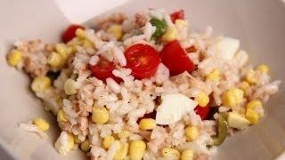 Italian Tuna & Rice Salad Recipe - Laura Vitale - Laura In The Kitchen Episode 406
