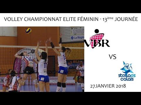 2018 01 27 Rencontres Sportives   Volley Elites féminin 13ème journée   VB ROMANS vs STELLA CALAIS