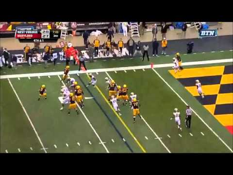 Andre Monroe - Maryland Football - DL - 2014 West Virginia Game