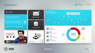 FIFA 13 UI redesign