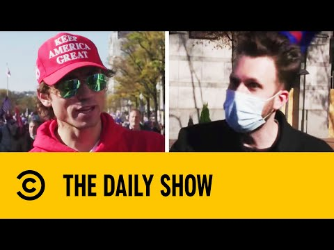 Jordan Klepper At The Million MAGA March   The Daily Show With Trevor Noah