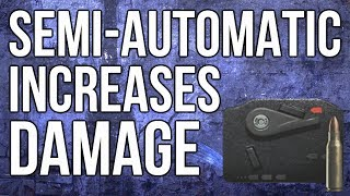 Ghosts In Depth - Semi-Automatic Increases Damage (Attachment Review)