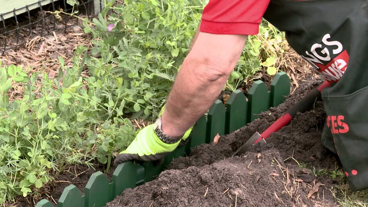 How To Install Garden Edging DIY At Bunnings YouTube