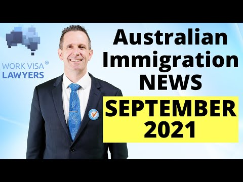 Latest Australian Immigration News September 2021 - Agricultural Visa, Students & Borders & Covid