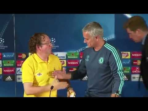 Jose Mourinho & Cesc Fabregas presser pre Porto v Chelsea
