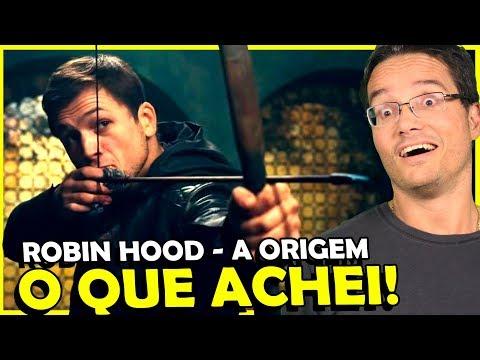 FILME ROBIN HOOD - A ORIGEM, ANALISE COMPLETA!