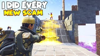 I Did Every New Scam on 1 Scammer 😱 Must Watch (Scammer Gets Scammed) Fortnite Save The World