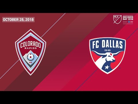 HIGHLIGHTS: Colorado Rapids vs. FC Dallas | October 28, 2018